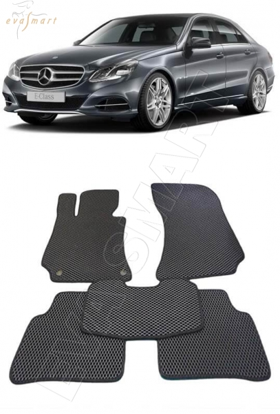 Mercedes-Benz Е-класс IV (W212) 2009 -  Автоковрики 'EVA Smart'