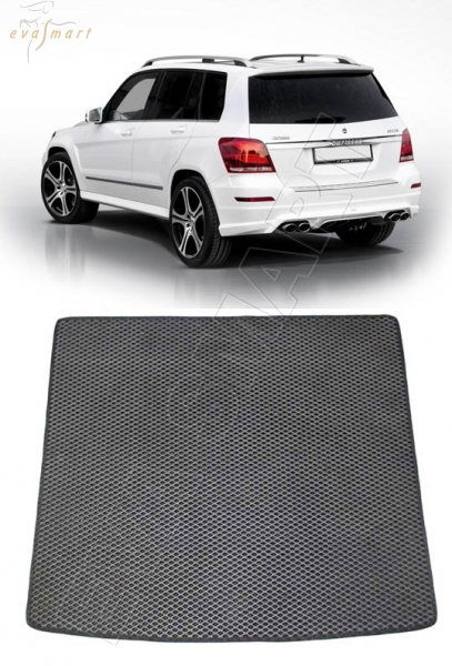 Mercedes-Benz GLK (Х204) багажник 2008 - 2015 Автоковрики 'EVA Smart'