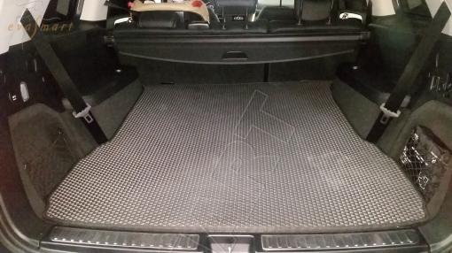 Mercedes-Benz GL-класс II (X166) 7 мест 2012 - 2016 коврики EVA Smart