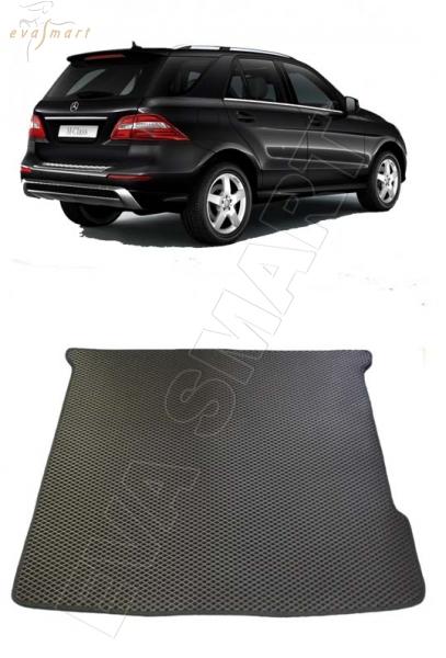 Mercedes-Benz M-класс II ML 300 (W166)  2011 - Автоковрики 'EVA Smart'