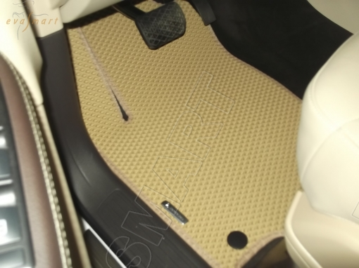 Mercedes-Benz GLE (W166) 2015 - 2018 коврики EVA Smart