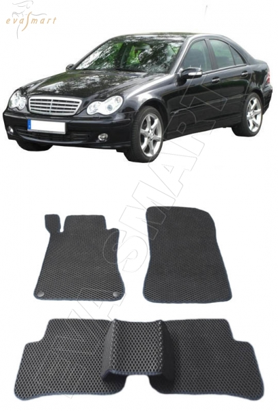 Mercedes-Benz С-класс (W203) 2000 - 2007  Автоковрики 'EVA Smart'