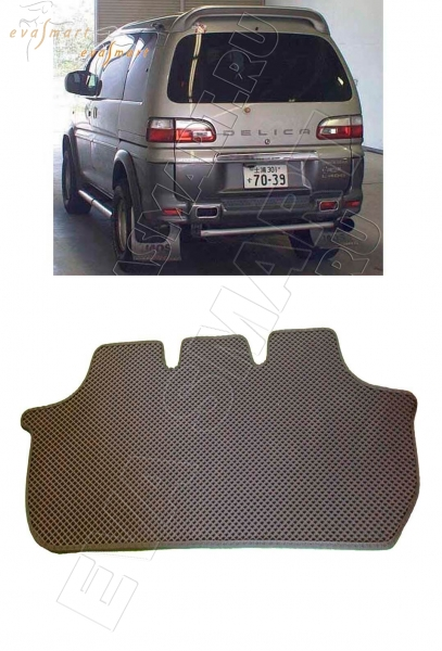 Mitsubishi Delica 1993 - 2006 багажник Автоковрики 'EVA Smart'