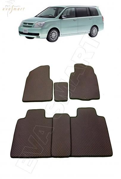 Mitsubishi Dion правый руль 2000 - 2005 Автоковрики 'EVA Smart'