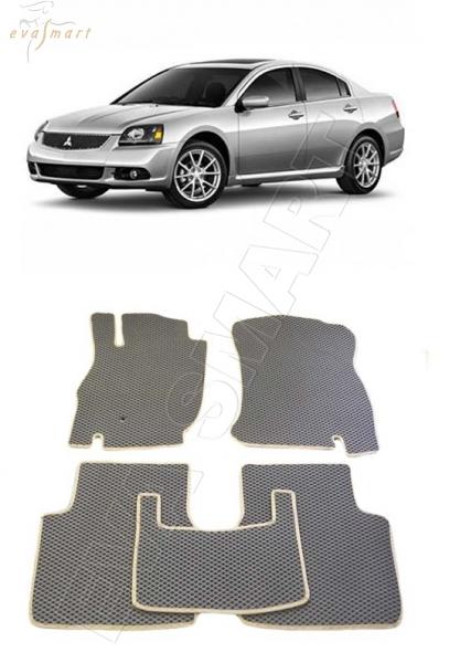 Mitsubishi Galant IX багажник 2004 - 2012 Автоковрики 'EVA Smart'