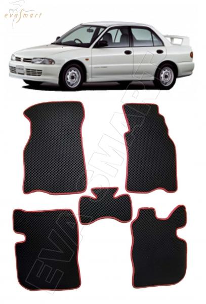 Mitsubishi Lancer VI правый руль 1991 - 2000 коврики EVA Smart