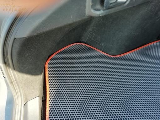 Mitsubishi Lancer X 2007 - 2017 коврик в багажник седан EVA Smart