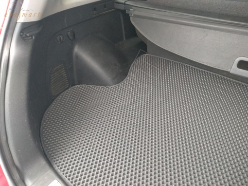 Mitsubishi Outlander I 2003 - 2007 коврик в багажник EVA Smart