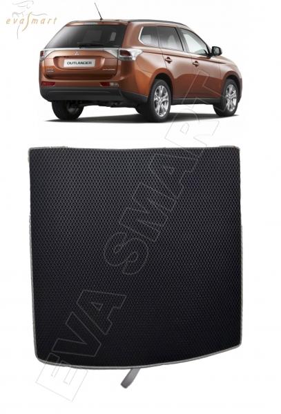 Mitsubishi Outlander III 5 мест коврик в багажник 2012 - н.в. EVA Smart