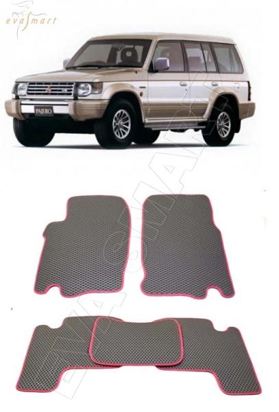 Mitsubishi Pajero II 1990 - 2004 коврики EVA Smart