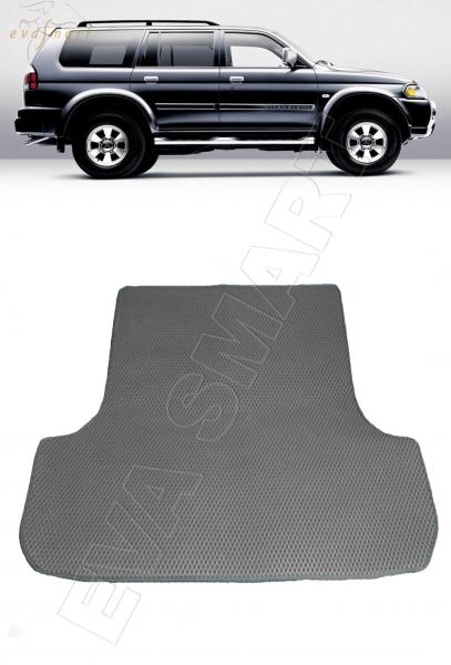 Mitsubishi Pajero Sport I (Montero Sport I) 1998 - 2008 коврик в багажник EVA Smart