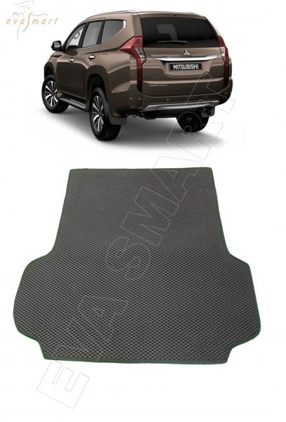 Mitsubishi Pajero Sport III багажник 2015 - н. в. Автоковрики 'EVA Smart'