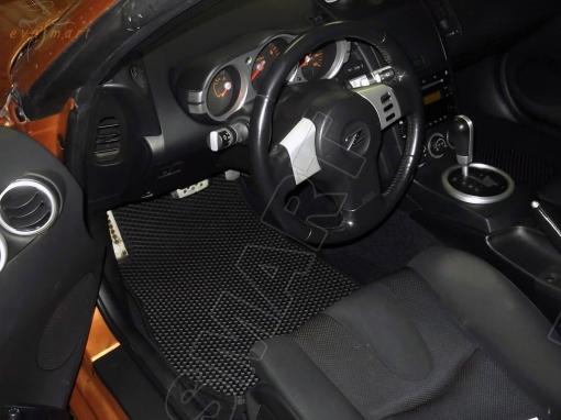 Nissan 350Z I купе 2002 - 2007 коврики EVA Smart