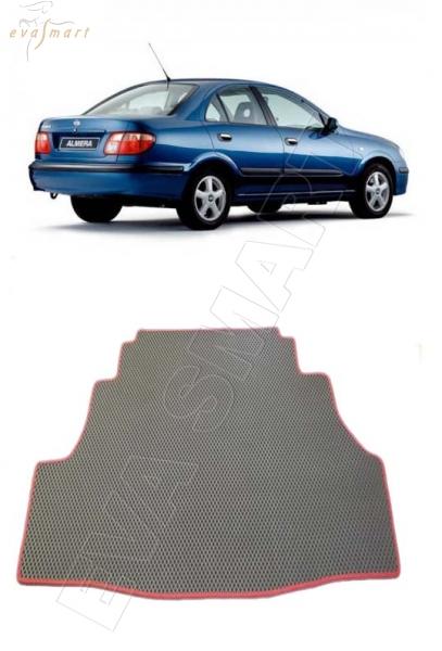 Nissan Almera (N16) Tino правый руль 2000 - 2006 Коврик багажника EVA Smart