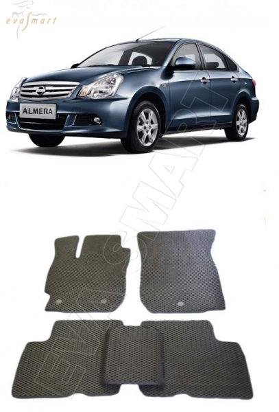 Nissan Almera (G15) 2012 - н. в. Автоковрики 'EVA Smart'