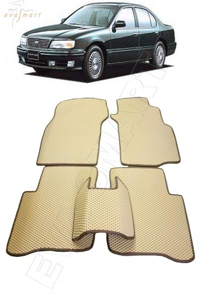 Nissan Cefiro II правый руль 1994 - 2000 Автоковрики 'EVA Smart'