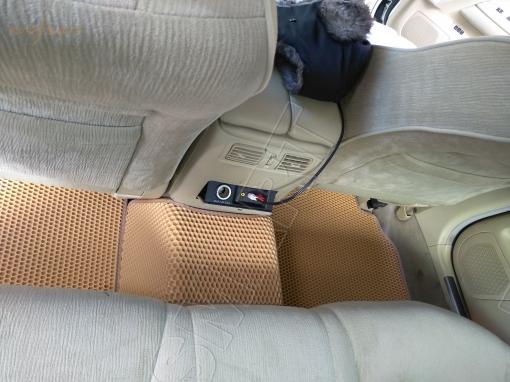 Nissan Fuga правый руль 2004 - 2009 коврики EVA Smart