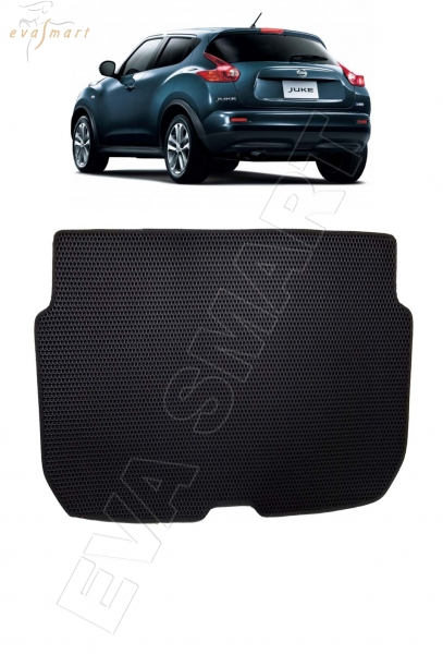 Nissan Juke коврик в багажник 2010 - 2014 EVA Smart