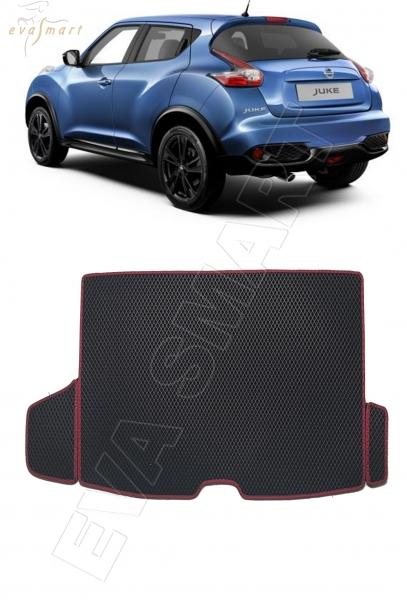 Nissan Juke 2014 - 2019 коврик в багажник EVA Smart