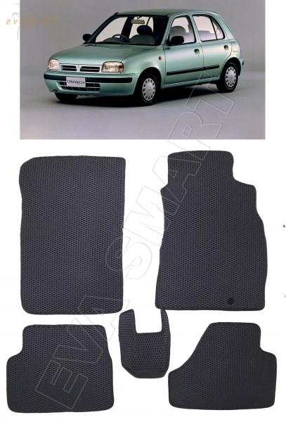 Nissan March II (K11) правый руль 1992 - 2002 коврики EVA Smart