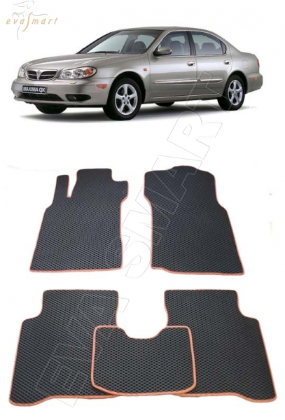 Nissan Maxima V (A33) 2000 - 2005 коврики EVA Smart