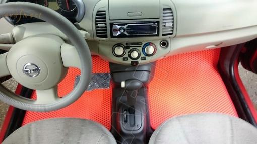 Nissan Micra III (K12) 2003 - 2010 Автоковрики 'EVA Smart'
