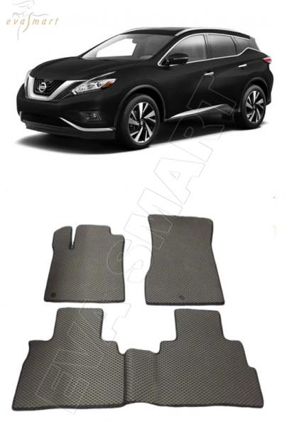 Nissan Murano (Z52) 2014 - н.в. коврики EVA Smart