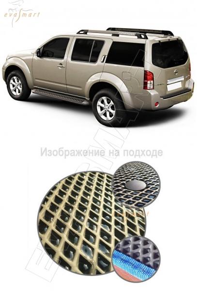 Nissan Pathfinder III (R51) 2004 - 2010 коврик в багажник EVA Smart