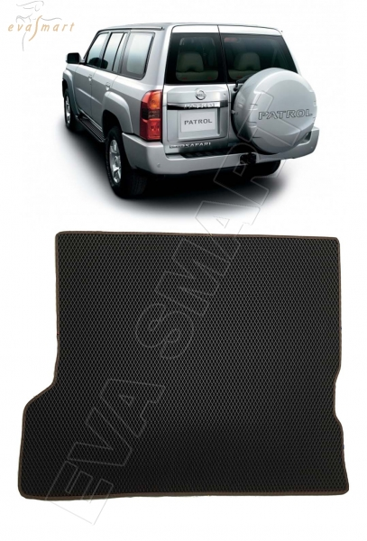 Nissan Patrol (Y61) 2004 - 2010 коврики EVA Smart