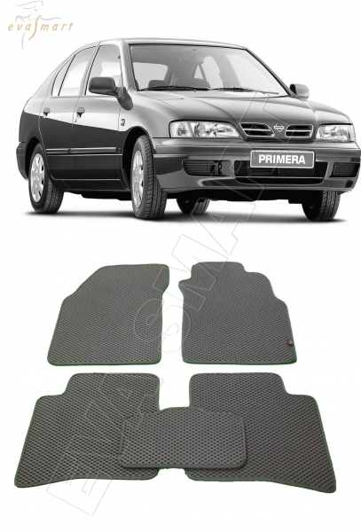 Nissan Primera II (P11) правый руль 1996 - 2002 Автоковрики 'EVA Smart'