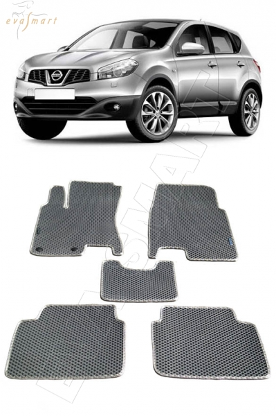 Nissan Qashqai J10 2007 - 2014 Автоковрики 'EVA Smart'