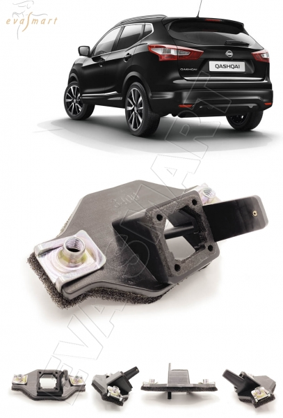 Nissan Qashqai J11 2013 - н.в. омыватель камеры заднего вида