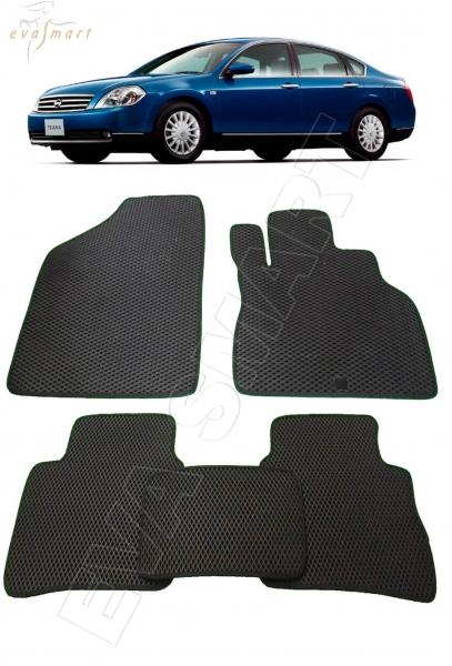 Nissan Teana I правый руль 2003 - 2008 коврики EVA Smart