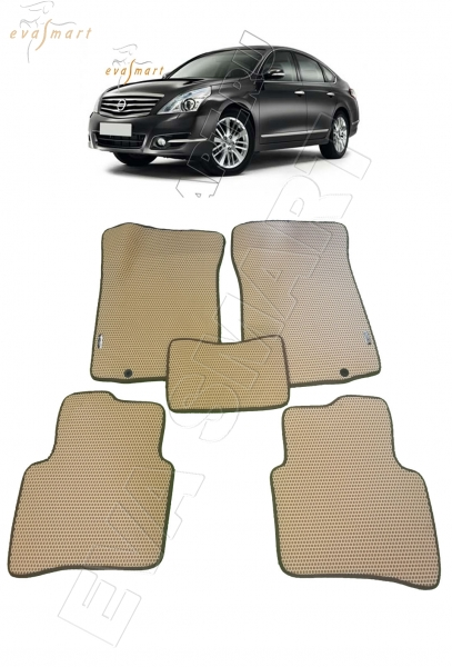 Nissan Teana J32 2008 - 2014 коврики EVA Smart