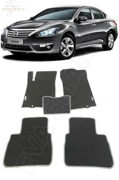 Nissan Teana L33 2014 - н.в. коврики EVA Smart