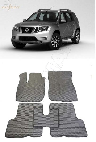 Nissan Terrano III  2014- н. в. Автоковрики 'EVA Smart'