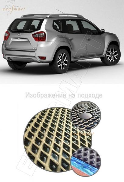 Nissan Terrano III 2014 - н.в. коврик в багажник 4х2 EVA Smart