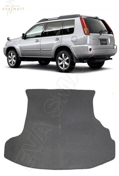 Nissan X-Trail (T30) 2001 - 2007 коврик в багажник EVA Smart