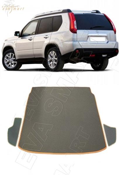 Nissan X-Trail (T31) 2007 - 2015 коврик в багажник EVA Smart