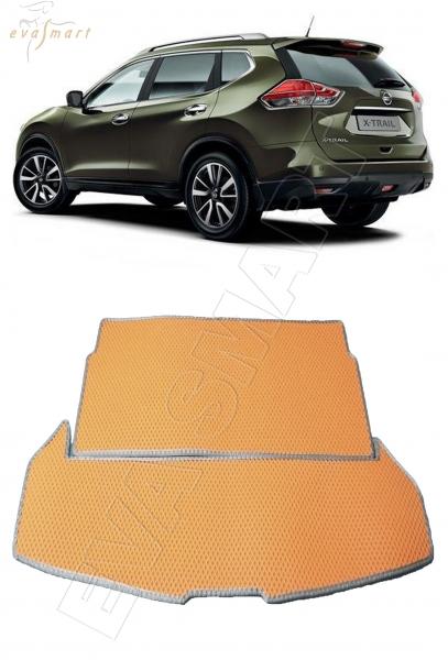 Nissan X-Trail (T32) 2013 - н.в. коврик в багажник EVA Smart