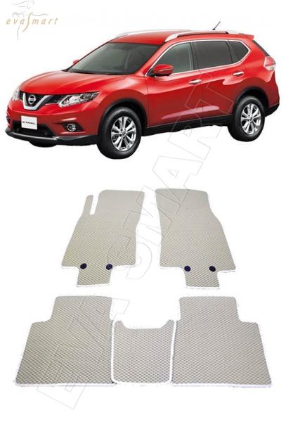 Nissan X-Trail (T32) 2013 - н.в. коврики EVA Smart