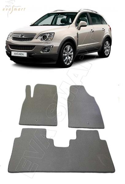 Opel Antara I рестайлинг 2010 - 2015 н. в. Автоковрики 'EVA Smart'