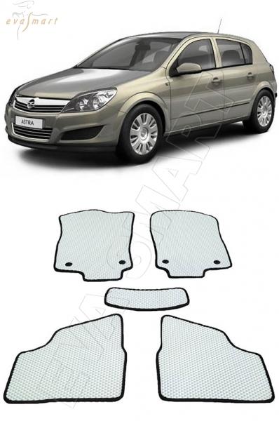 Opel Astra H 2004 - н. в.хэтчбэк  Автоковрики 'EVA Smart'