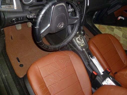 Opel Astra J GTC 2010 -  н. в. Автоковрики 'EVA Smart'