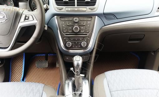 Opel Mokka 2012 - н. в. Автоковрики 'EVA Smart'