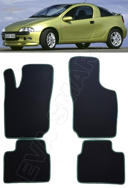Opel Tigra купе 1994 - 2001 коврики EVA Smart