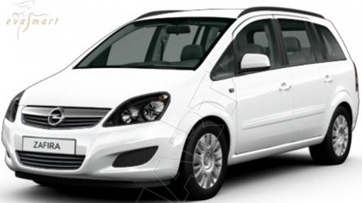 OpelZafira C 7 мест 2012 - 2015 Автоковрики 'EVA Smart'