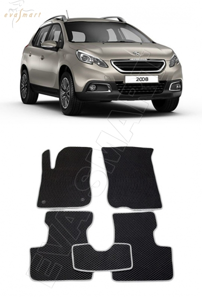 Peugeot 2008 2014 - 2015 Автоковрики 'EVA Smart'