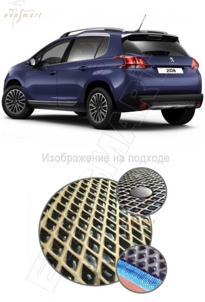 Peugeot 2008 2014 - 2015 Коврик багажника EVA Smart