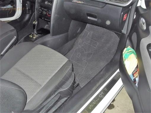 Peugeot 207 2006 - 2013 коврики EVA Smart